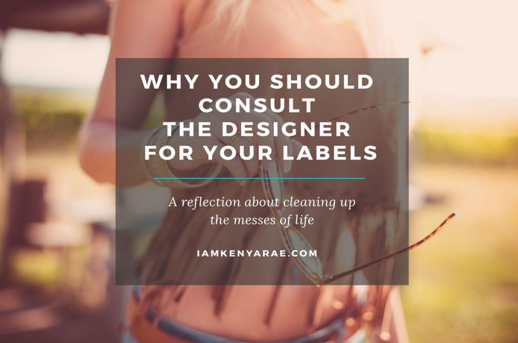 Why You Should Consult the Designer for Your Labels