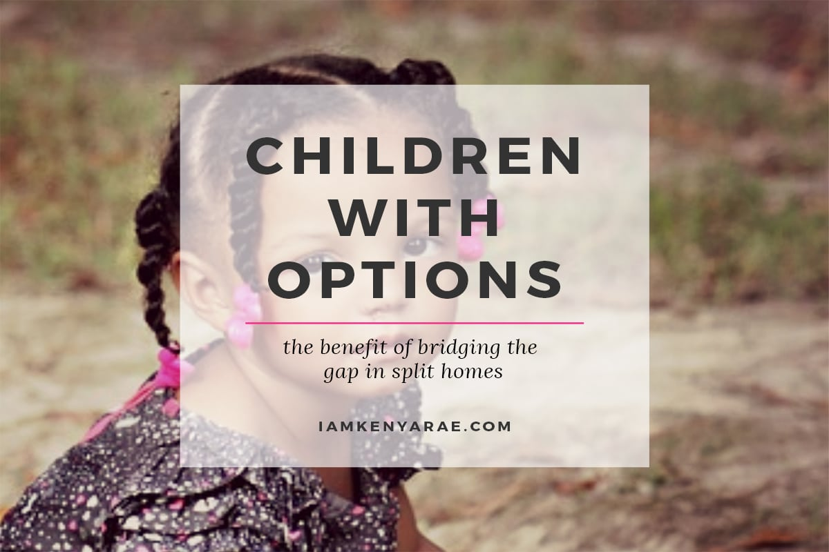 children with options