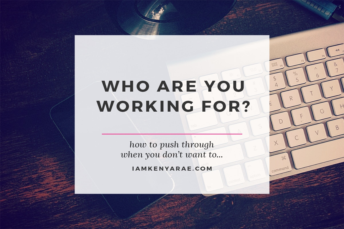 who do you work for