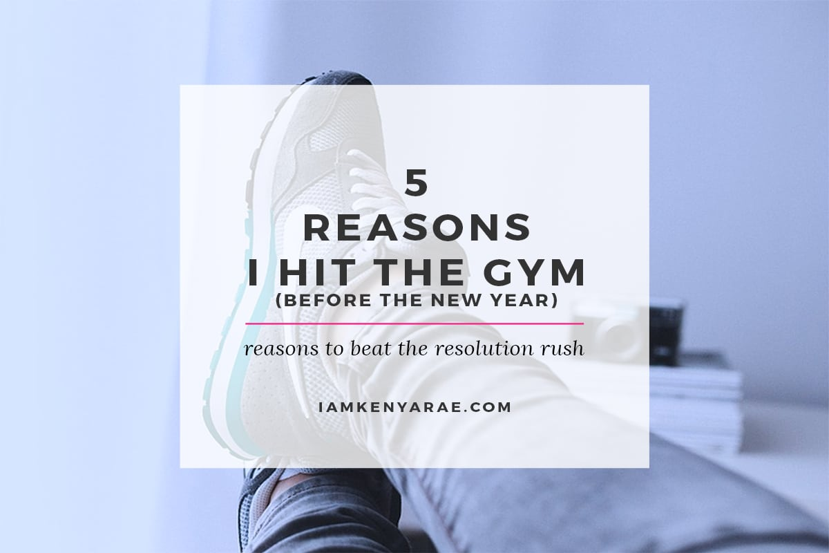 5 reasons to hit the gym