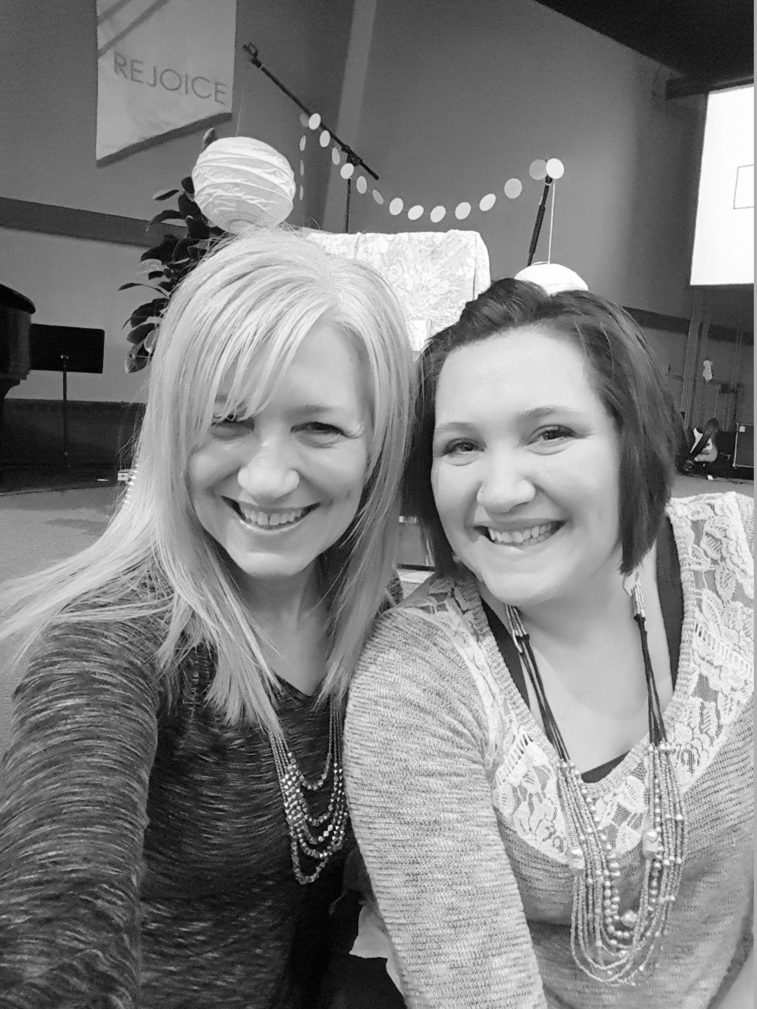 Kayla and her mom