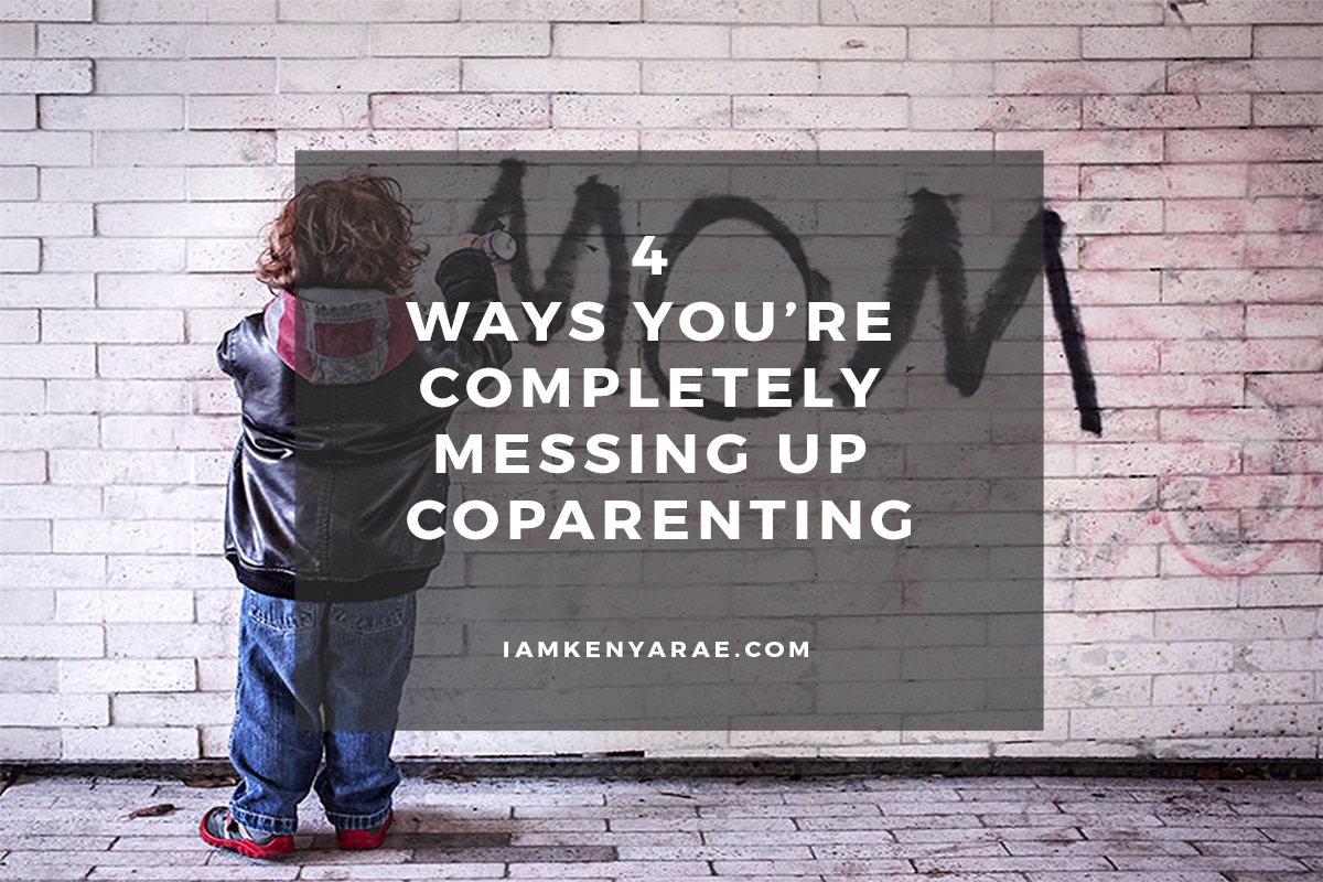 messing up coparenting
