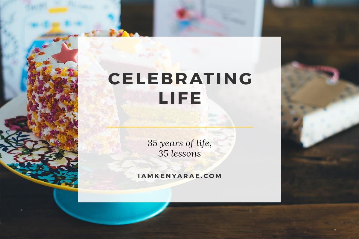 celebrating 35 years of life