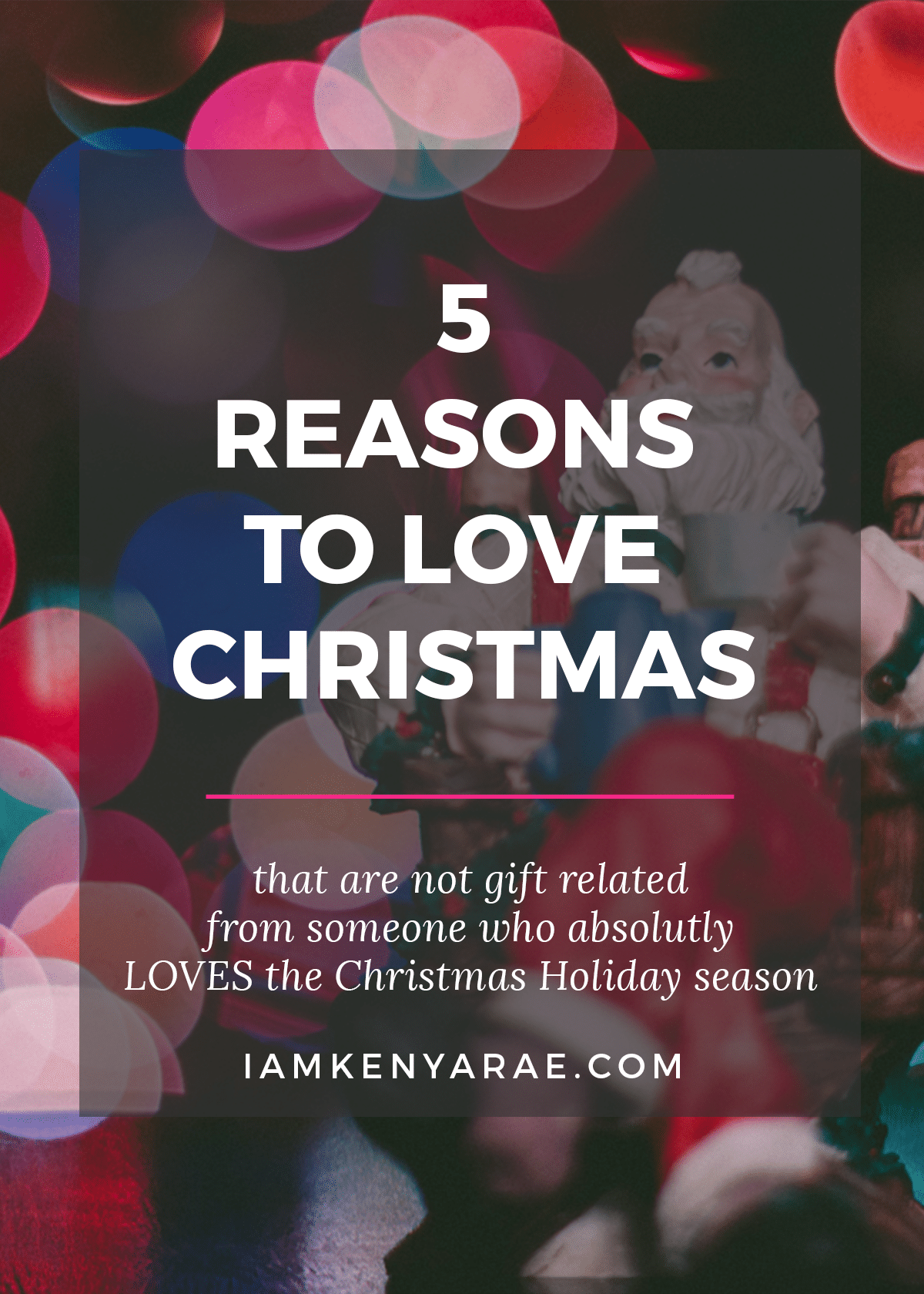 5 reasons to love christmas