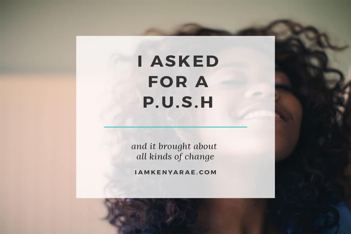 a push for prayer