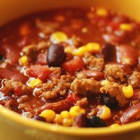Simple and Easy Stove Top Turkey Chili