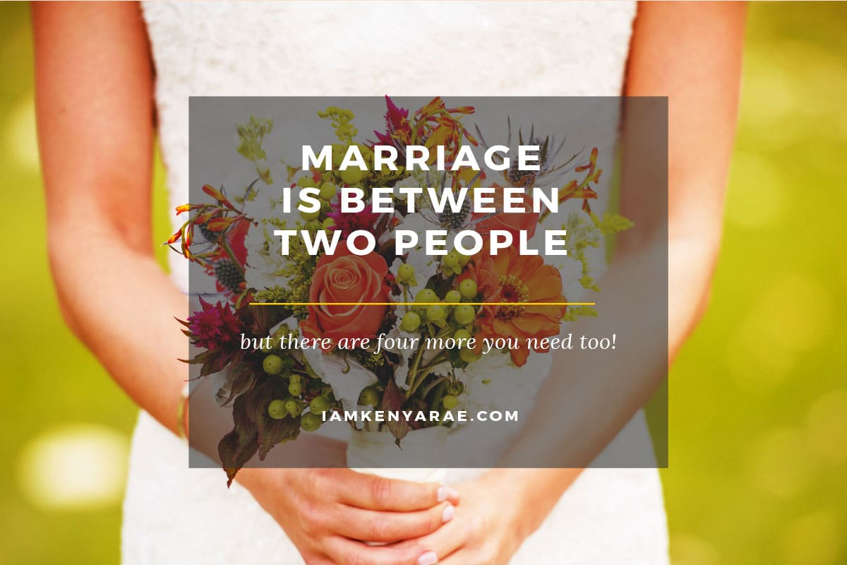 4 People You Absolutely Need In Your Marriage