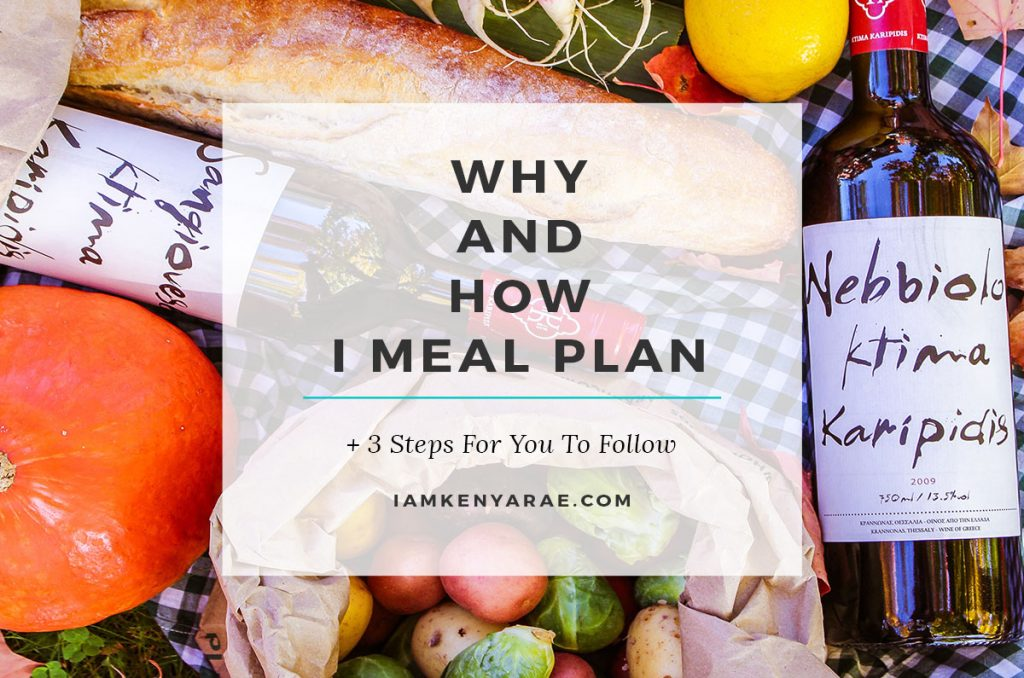 Stress Less, Plan More: 3 Steps to Successful Meal Planning