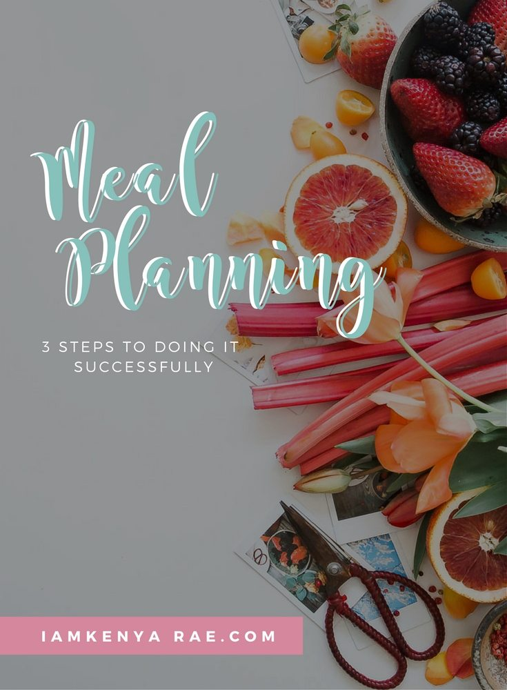 How to meal plan successfully
