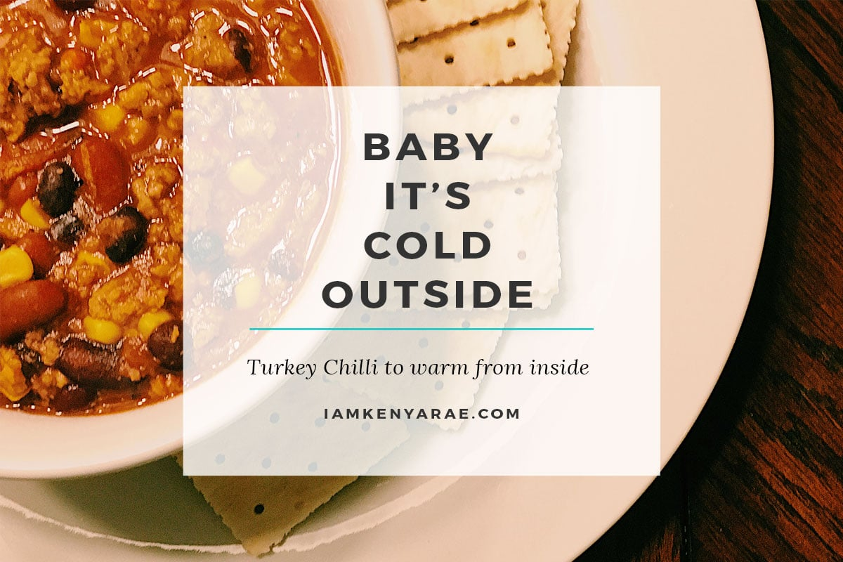 simple and easy turkey chilli