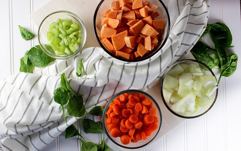 veggies for fat flush soup