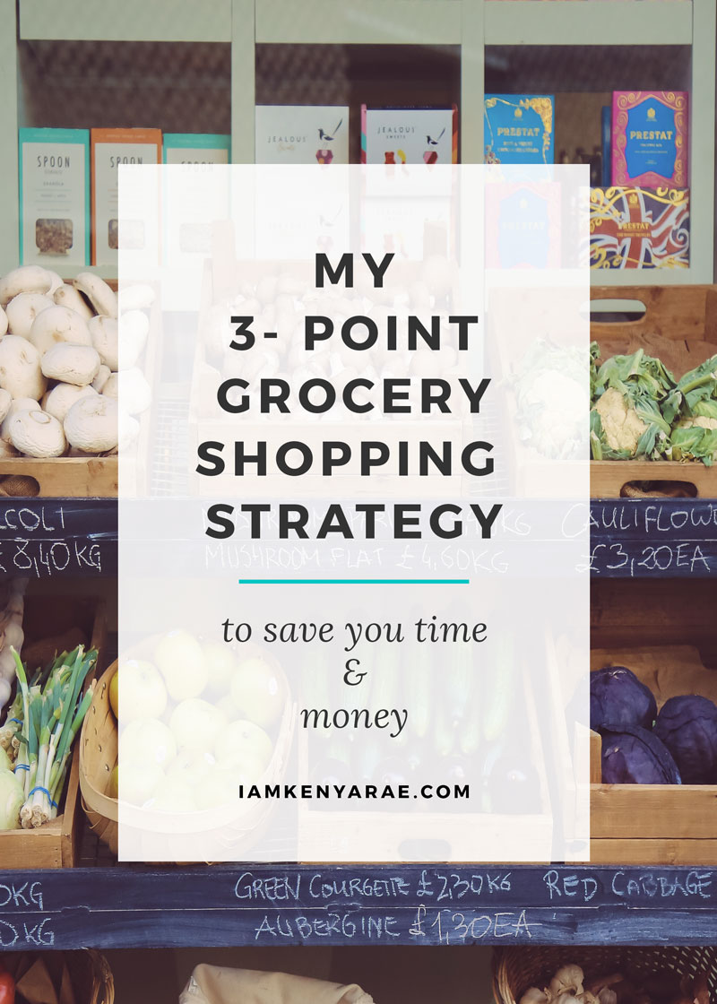 How To Maximize Savings {and time} On Weekly Grocery Shopping