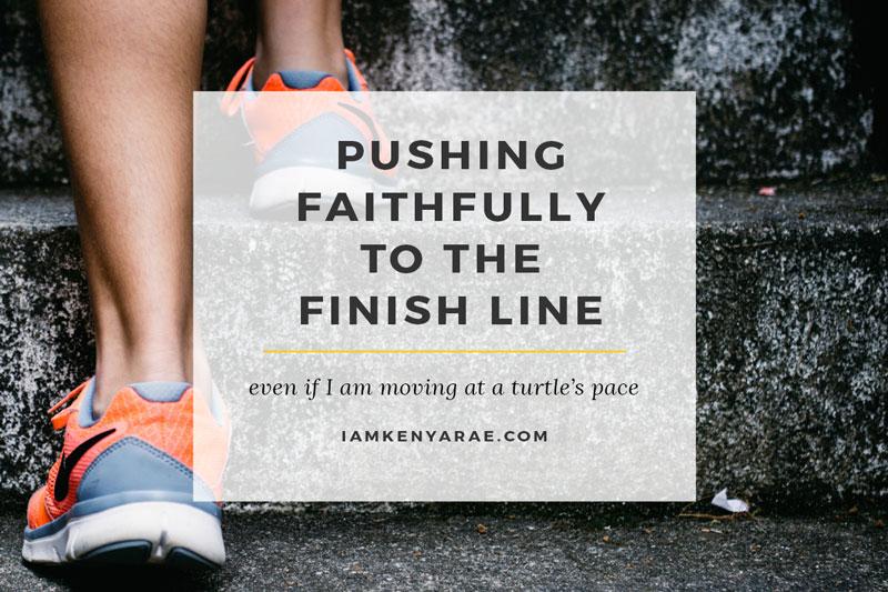 Making Progress & Pushing Faithfully to the Finish Line [Fat Flush Soup Recipe]