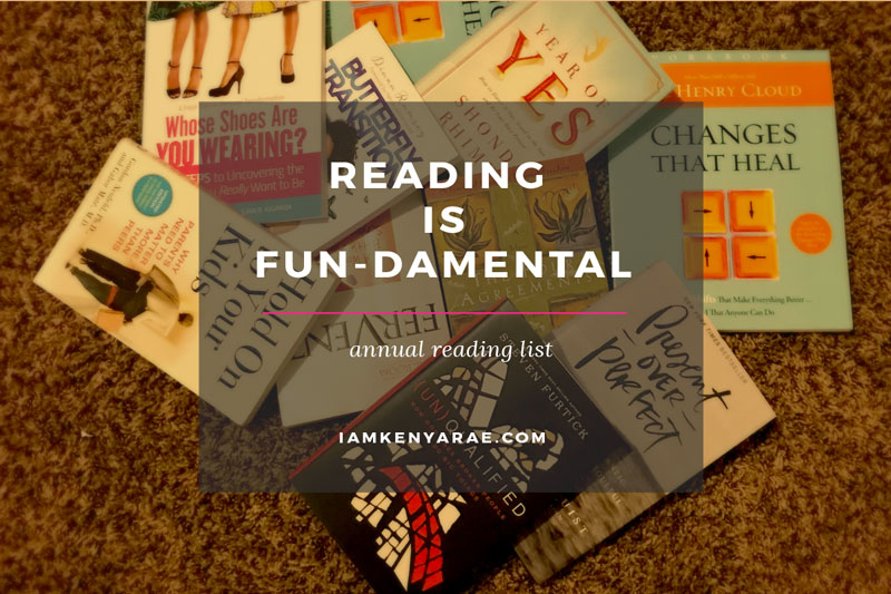 Reading is Actually FUN-damental: Official 2017 Reading List