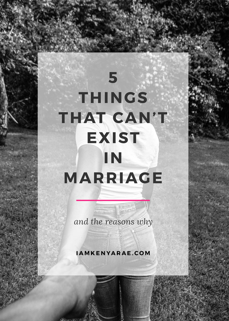 These 5 Things Can Be Ruining Your Marriage