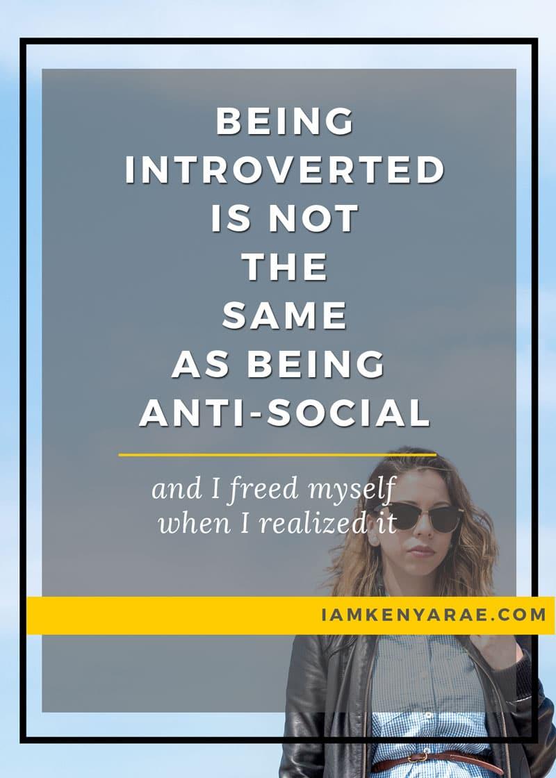 The Breakthrough Moment I Realized I'm Not Anti-Social