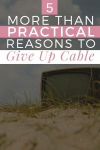 5 more than practical reasons to give up cable