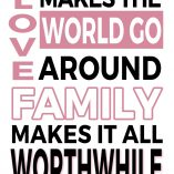 Love and Family Printable