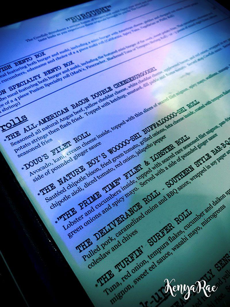 burgushi menu
