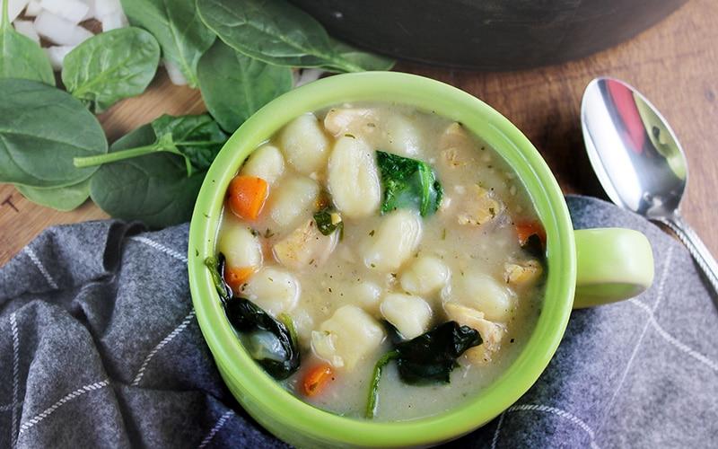 recipe for olive garden chicken gnocchi soup