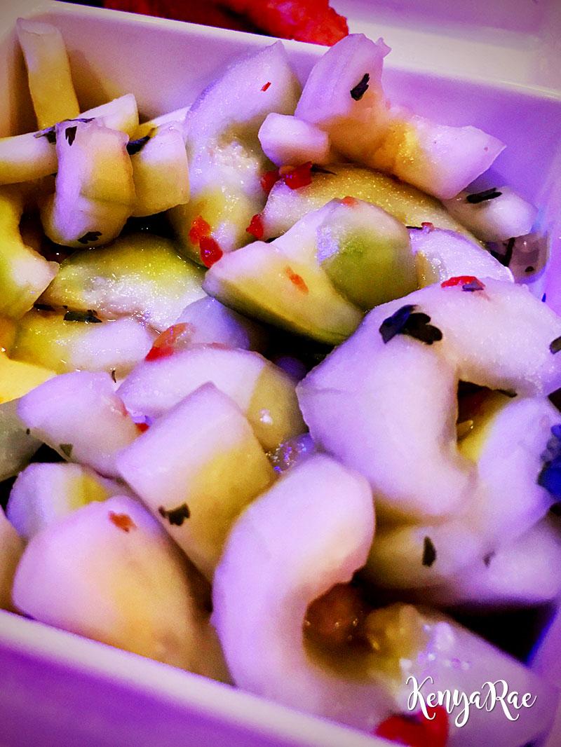 cowfish cucumber salad
