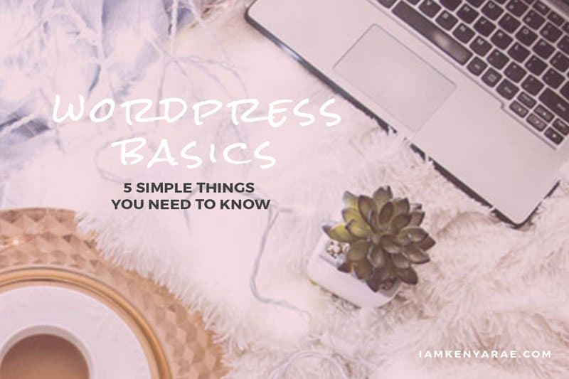 5 Simple Things To Know About WordPress As A New Blogger