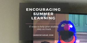 How To Encourage Learning Over The Summer