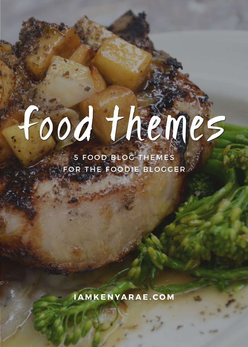 5 Food Blog Themes