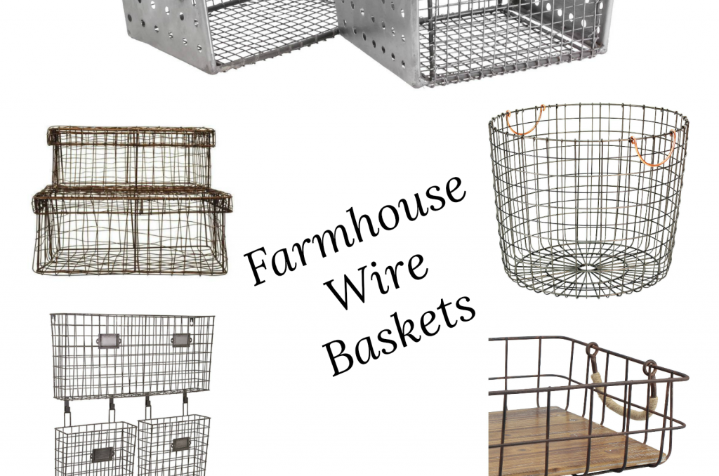 Farmhouse Wire Baskets