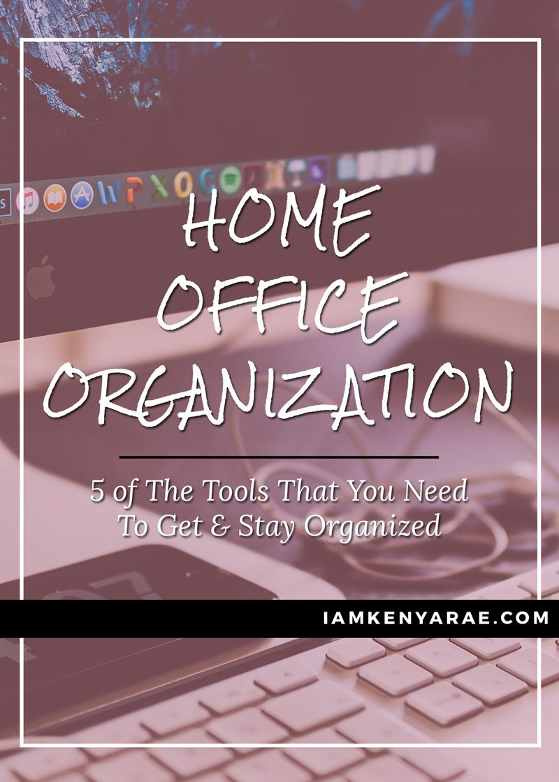 Organize Your Home Office