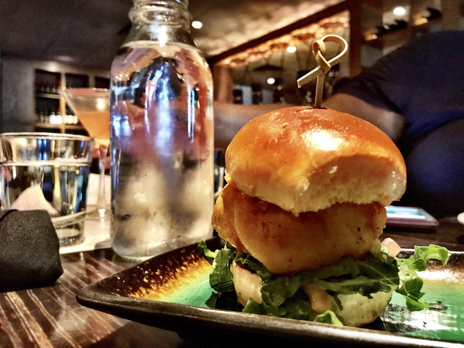 Bonefish Bar and Grill Cod Sliders