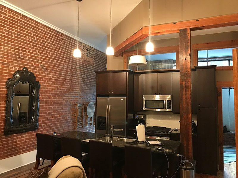 Loft 101 Kitchen View