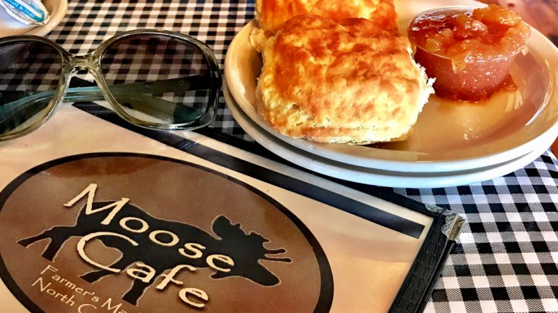 Moose Cafe Homemade Biscuits & Apple Butter