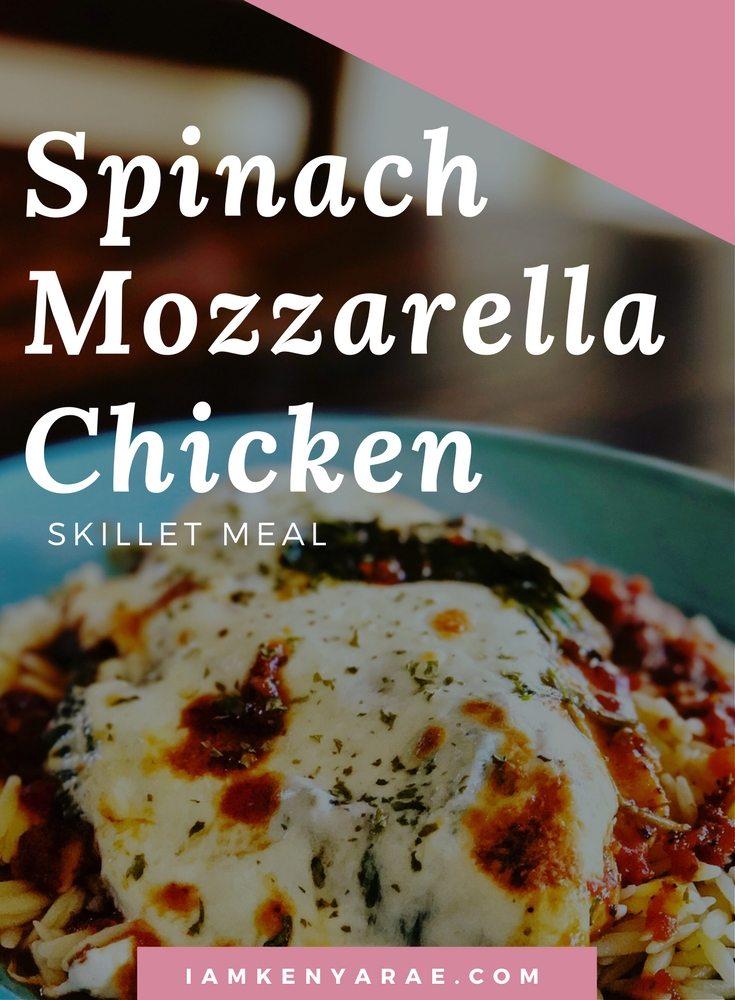 spinach mozzarella chicken