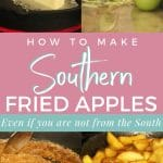 how to make southern fried apples