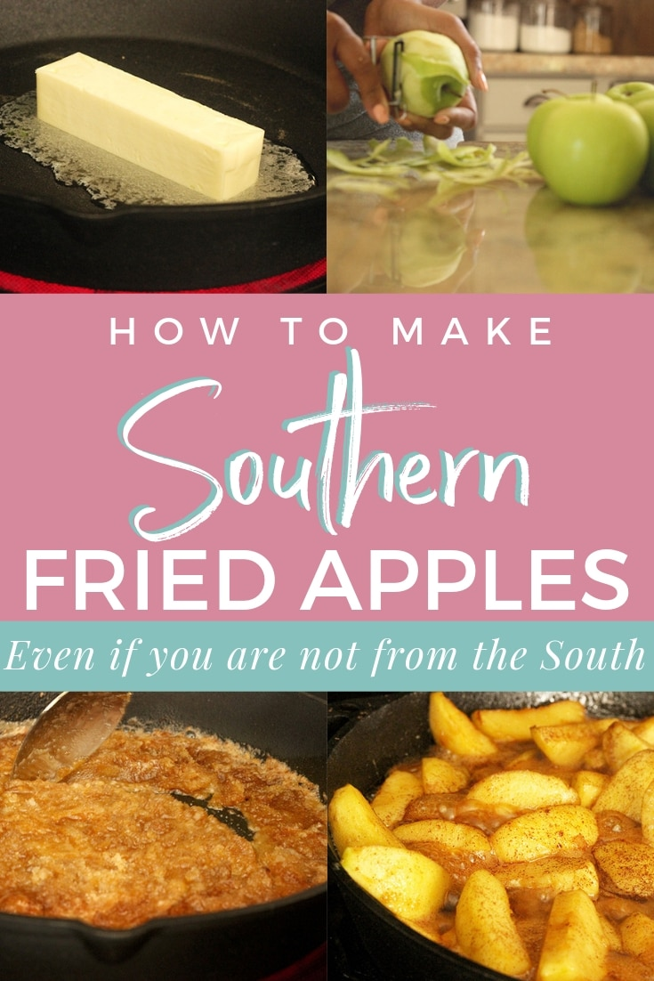Homemade Fried Apples Delicious fried apples that are great served with breakfast or dessert that take no time at all!  Make fried apples like a southerner even if you are not one. #friedapples #applerecipes #howtomakefriedapples #southernfriedapples