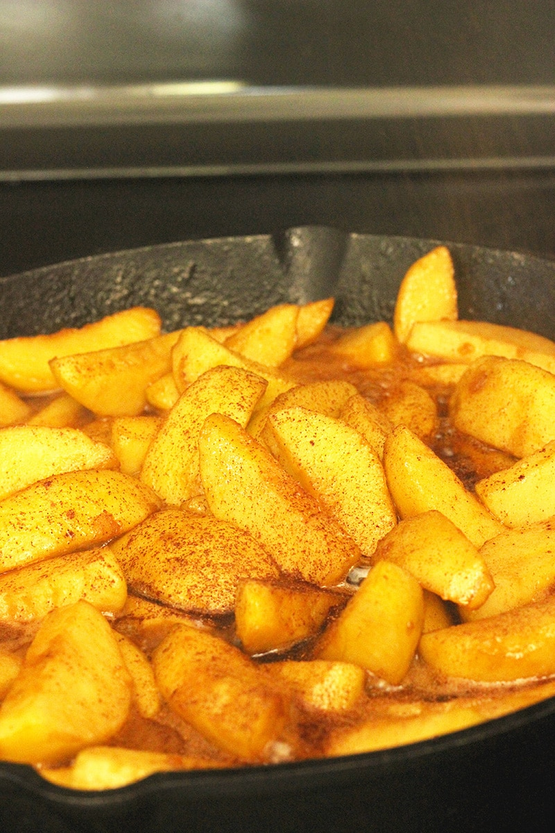 how to make fried apples