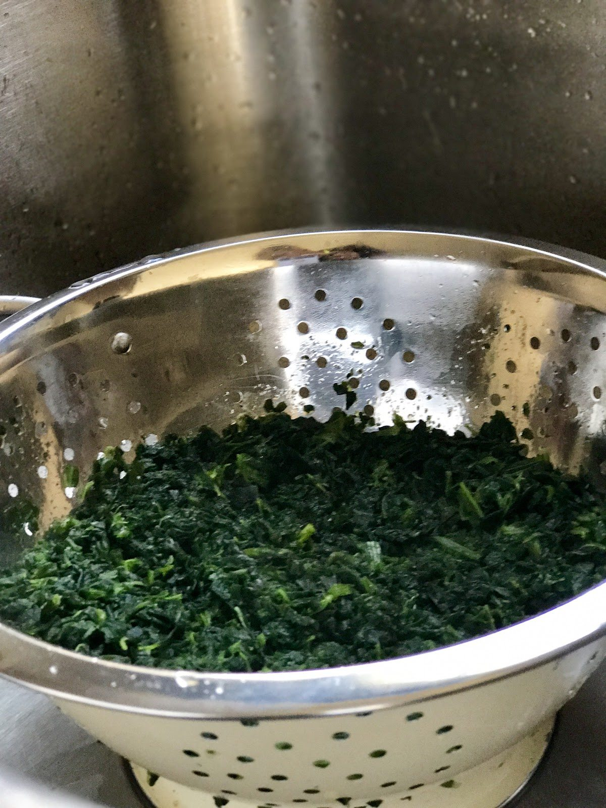 spinach for spinach dip