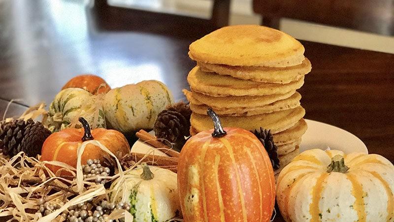 buttermilk pumpkin pancakes