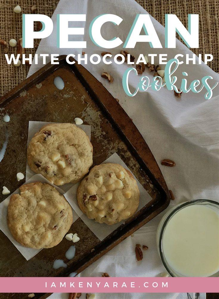 pecan white chocolate chip cookies