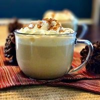 3 Ingredient Eggnog Latte