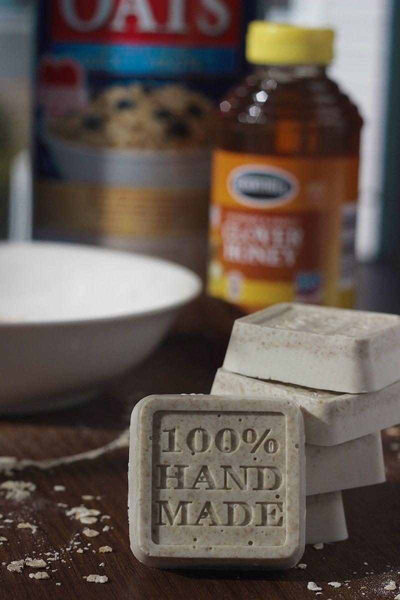 Simple & Easy DIY Soap Recipe Honey vanilla oatmeal soap recipe that smells like it should taste as good as it smells.
