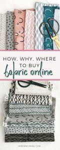 How Why Where To Buy Fabric Online
