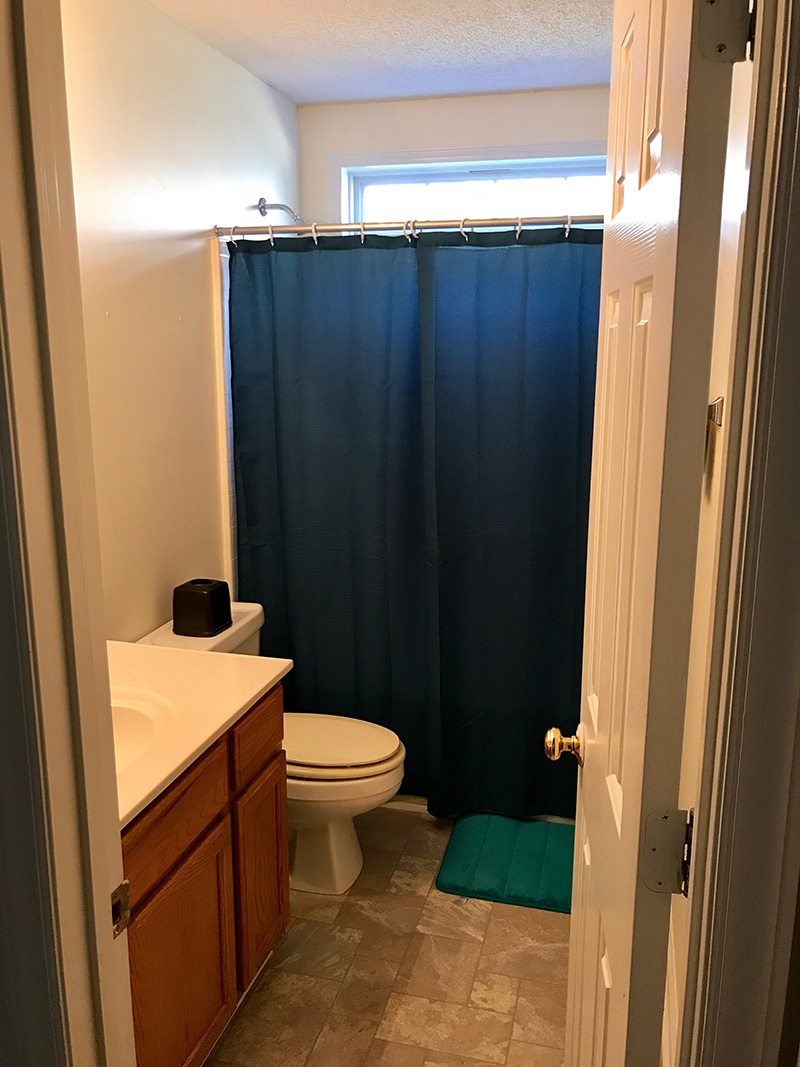 boys bathroom before remodel