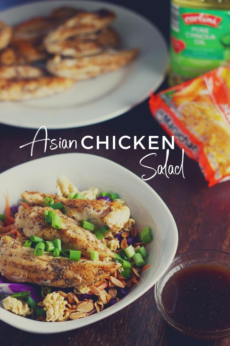 top ramen asian chicken salad