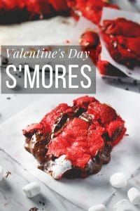 Valentine's Day Smores