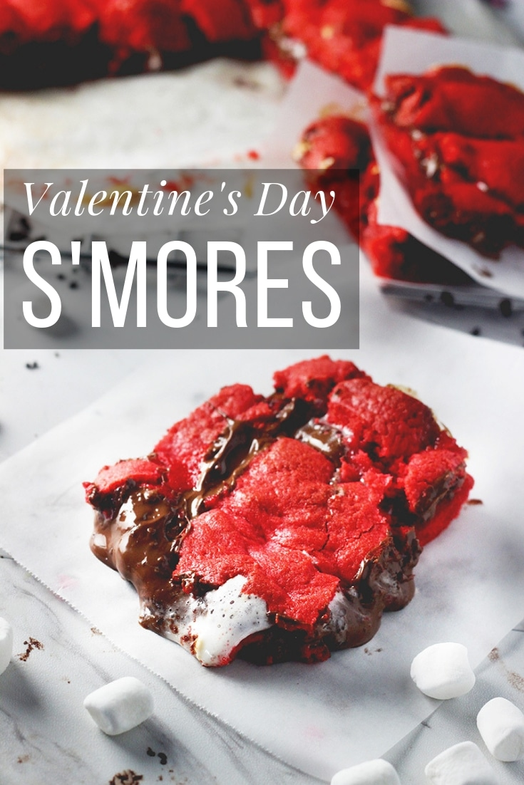 S'mores In The Oven Recipe Perfect For Any Season If food is your love language or the love language of someone you love, these made in the oven smores are a sweet treat for your sweetheart(s). #smoresintheoven #smoresrecipes #valentinesdaydessert #dessertrecipe