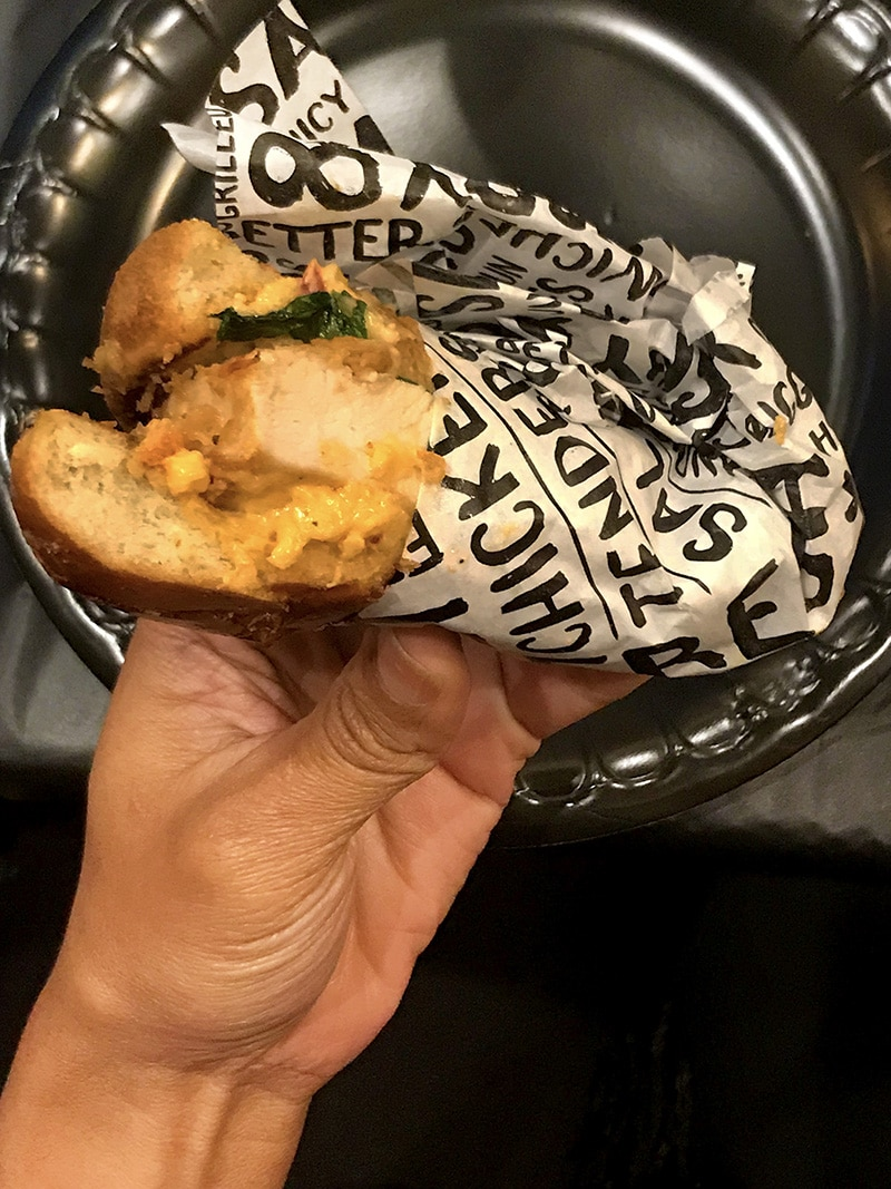 PDQ Pimento Crunch Sandwich