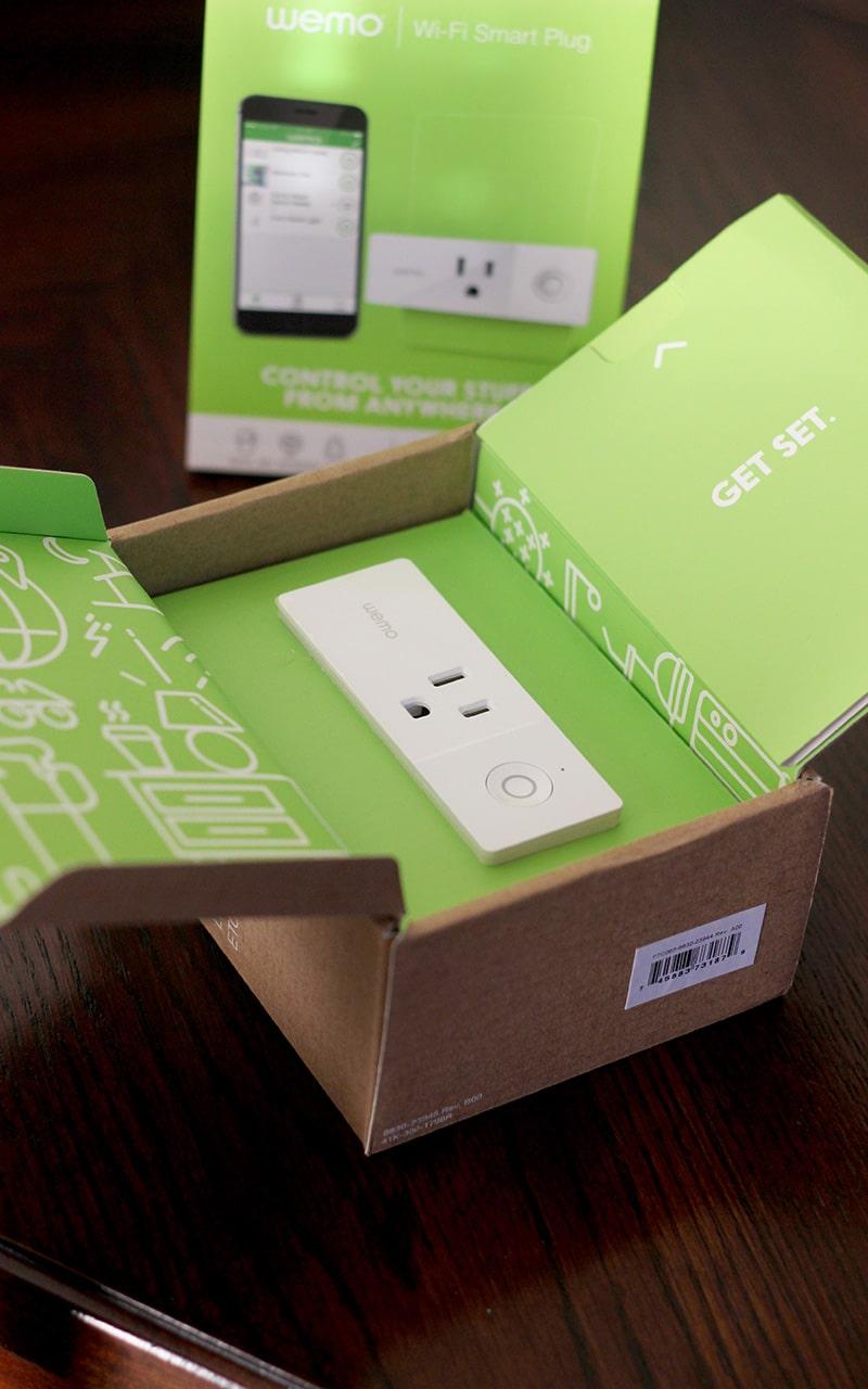 wemo smart plug