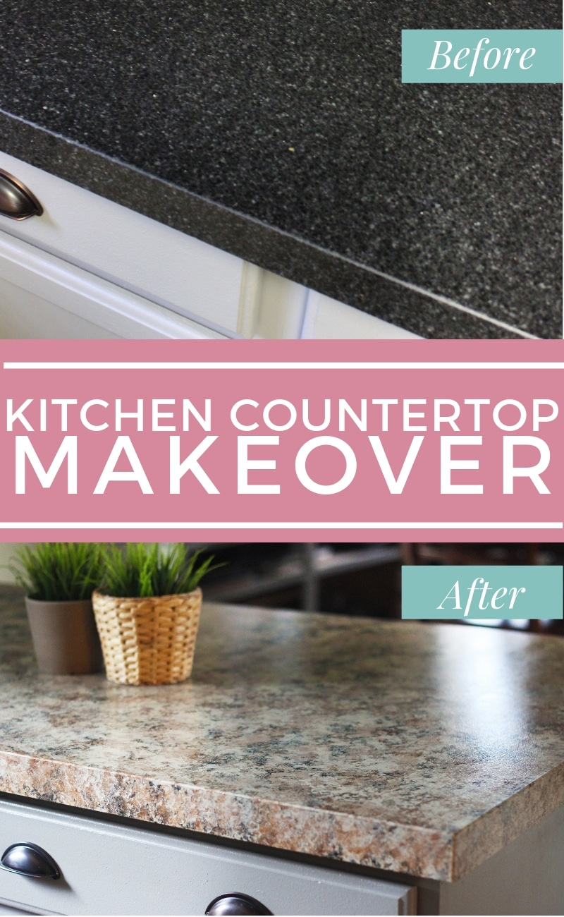 kitchen coutertop makeover